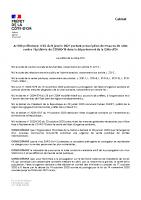 arrete prefectoral n- 23 du 9 janvier 2021